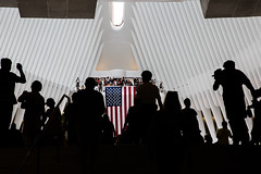 15 Years Later (mookie.nyc) Tags: oculus nyc newyorkcity manhattan worldtradecenter 911 15yearslater 2016 91116 america flag americanflag silhouette shapes patterns diamond diamondshape people candid 5dmarkiii nycarchitecture thenewnyc downtown downtownnyc pathtrain wtc emerging peopleemerging philosophical humans humanitarian thoughtful thehumanelement therealnyc thebigapple thehumancondition dailylife