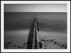 bisect (Andrew C Wallace) Tags: nd400 longexposure portphillipbay victoria australia waves blur olympusomdem5