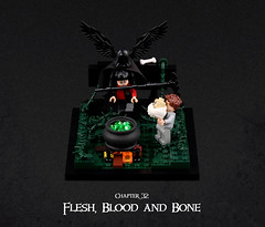 Harry Potter and the Goblet of Fire 26 (Xenomurphy) Tags: lego moc bricks harrypotter gobletoffire rowling muggle magic weasley hermione malfoy voldemort hogwarts hogsmeade slytherin hufflepuff gryffindor ravenclaw quidditch