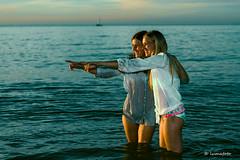 Modellenshoot zee5 (lumafoto - luc bauwens) Tags: dea model wate sun summer zomer water zee