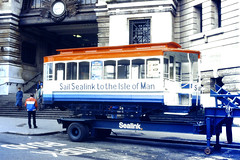 Slide 076-81 (Steve Guess) Tags: sealink isleofman tram manx waterloo station london england gb uk lambeth