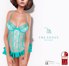 TA AMBER LINGERIE AD (The Annex Store) Tags: theannex events clothing fashion maitreya physique slink hourglass avatar mesh treschic lingerie sheer lace