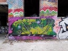 Fresh from Pispala (Thomas_Chrome) Tags: graffiti streetart street art spray can wall walls fame gallery hof legal pispala tampere suomi finland europe nordic