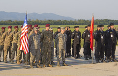 A Multinational Formation (usareur_pao) Tags: command nato unitedkingdom hungary multinational reserve newyork uk civil macedonia director croatia england royal affairs montenegro statenisland publicaffairs disaster humanitarian eucom airforce kosovo exercise partnership army flag usareur jeff bosniaandherzegovina slovenia partner immediateresponse cantor migration 353 strongeurope cerkljeobkrki