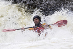 _7D28358 (Simon Wootton) Tags: sport kayaking grantully water whitewater splash speed perth river rivertay danger scotland