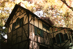 Exa 1C Old Mill Busch Gardens 2 () Tags: original busch gardens pasadena los angeles california history heritage theme park film tour mill waterwheel 1920s adolphus public private abandoned exa east germany ddr gdr slr m42 classic retro vintage 35mm camera