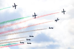 DSC_5527 (sauliusjulius) Tags: nato days ostrava 2016 czech air force september 17  18 leos janacek airport osr lkmt frecce tricolori 313 gruppo addestramento acrobatico aermacchi mb339