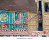 beautiful-craftsmanship-and-artwork-on-truck-in-rawalpindi-pakistan-AH1JXH (MUBASHIR_CHOUDHARY) Tags: pakistan kkh karakorum highway lorry truck asia mountain rawalpindi gasherbrumii transport travel painted decorated road karakoram ornate truckart decoratedtrucks pakistani punjab jhelum colors jingletrucks art streetart havelianstyletruck