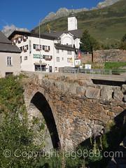 REU060 Old Stone Arch Bridge over the Gotthardreuss River, Hospental, Uri, Switzerland (jag9889) Tags: 2016 20160826 alpine archbridge bridge bridges brcke ch cantonofuri centralswitzerland crossing europe gotthardreuss helvetia hospental infrastructure innerschweiz kantonuri outdoor pont ponte puente reuss river schweiz stone suisse suiza suizra svizzera swiss switzerland uri zentralschweiz jag9889