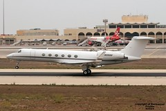 N55GV LMML 11-09-2016 (Burmarrad (Mark) Camenzuli Thank you for the 20.7) Tags: airline private aircraft gulfstream gv registration n55gv cn 545 lmml 11092016