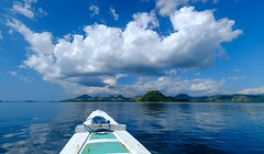 Cloudy - Komodo National Park, Indonesia (Unesco world heritage site) (Maria_Globetrotter) Tags: dscf39842 2016 fujifilm indonesia mariaglobetrotter komodo national park cloud big day cloudy cumulus