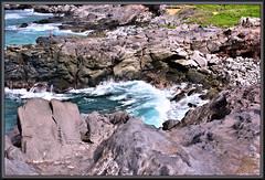 A different type of fishing hole (WanaM3) Tags: wanam3 nikon d750 nikond750 hawaii maui kapalua oneleobay ocean pacificocean shoreline seascape vista bluewater fisherman