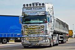 Scania R500 V8 Team Villani (Samuele Trevisanello) Tags: european truck festival brescia est autoparco 2016 castendolo scania scaniar scaniapower power v8power goinstyle holland sud it italia italy fotobyst trucks truckmeeting trucksmeeting nikon d3200 1855 vr passiontruck lovetruck transport r500 v8 team villani teknocar grey chrome acitoinox
