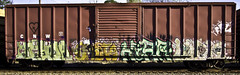 HAYDA  GASTO  HIAR (R.I.P.)  LURK (Revise_D) Tags: railroad art graffiti steel rails tagging freight rolling staging ffl fr8 fr8heaven