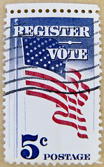 great stamp USA 5c register vote election flag United States of America US stamp USA 5c cent timbre États-Unis u.s. postage stamp selo Estados Unidos sello USA francobolli USA Stati Uniti d'America почтовая марка США pullar ABD 邮票 美国 Měiguó USA Briefmarke (stampolina, thx! :)) Tags: usa america postes stars election unitedstates stamps 5 five stripes flag unitedstatesofamerica stamp porto register states vote amerika timbre postage starsandstripes franco starspangledbanner 5c selo bolli sello statiuniti briefmarken markas 邮票 registervote francobollo uspostage vereinigtestaaten frimærker марки timbreposte francobolli bollo pullar 우표 znaczki сша frimaerke sellodecorreo почтоваямарка γραμματόσημα yóupiào ค่าไปรษณีย์ bélyegek postaücreti postestimbres selodecorreio