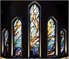 The Tree of Life Window at Christ Church Cathedral, Vancouver (Duffy'sTavern) Tags: photoshop churches stainedglass vancouverbc treeoflife philanthropy christchurchcathedral panoramicphotos churchart susanpoint april2009 yvestrudeau coastsalishart jeansoutham