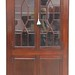 24. Mahogany 20th century Corner Cupboard