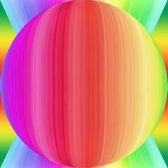 Psychedelic sphere (Marco Braun) Tags: color rainbow triangle arc sphere psychedelic farbig bunt regenbogen boule mucho kugel colourfull dreieck multichrome couleures pschedelisch enciel