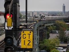 Broadway Junction 2 (grapfapan) Tags: city nyc urban subway crossing queens