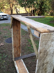 Gussets on corners (lolabeans) Tags: compostbin weekendprojects farmhouseliving