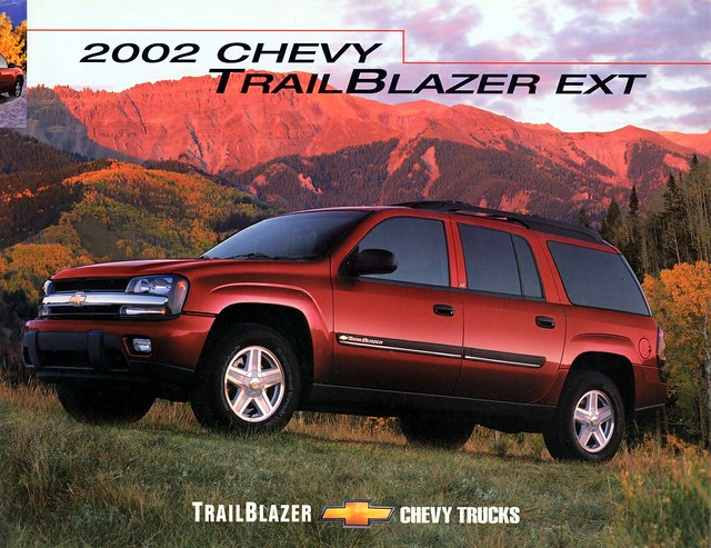 2002 canada chevrolet trailblazer brochure ext