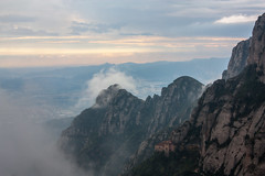 Spirituality named Montserrat (JoLoLog) Tags: mountain spain day cloudy montserrat catalunya lorien montserratmountain barcelonaprovince spiritualplace canonxsi rememberthatmomentlevel2 rememberthatmomentlevel3