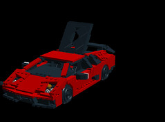 Lamborghini Murcielago SV (LegoNoitAllMocs) Tags: lego lamborghini sportscars supercars murcielago legomodels superveloce legocars