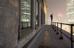 Balance (tomms) Tags: city toronto night high downtown vertigo walker tightrope balance core rooftopping