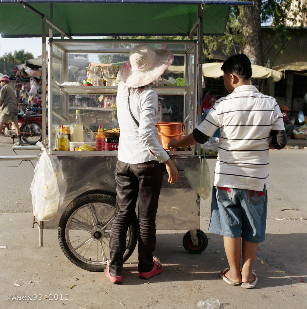 Food Stall - Siem Reap - Cambodge