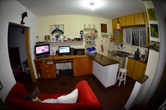 46b - Sala TV e cozinha americana (Marsia) Tags: brazil brasil br interior sopaulo santos apartamento 2012 gonzaga sopaulo stefanlambauer