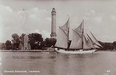 winoujcie (Swinemnde) Main Lighthouse and Pilot Tower (World Lights) Tags: pomerania pommern latarniamorska pomorze lotsenturm osternothafen