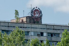 Chernobyl - Pripyat - 7419 (system slave) Tags: station photography town power accident radiation nuclear crest soviet stalker abandonded zone fallout exclusion pripyat  cherbobyl systemslave andreimakarov evaculated