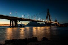 The Bridge (Christophe_A) Tags: longexposure bridge blue light sunset sea rio night coast nikon clear greece hour christophe d800 patra 2470 gefyra christopheanagnostopoulos magagr magaphotoaward χριστοφοροσαναγνωστοπουλοσ χριστόφοροσαναγνωστόπουλοσ