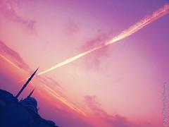 Gk Kubbe! (MustafaCandan) Tags: morning pink sunset red sky orange sun nature beautiful silhouette night clouds sunrise warm pretty view gorgeous muslim islam horizon mosque cami quran photooftheday manzara minare gk allsunsets flickrandroidapp:filter=none