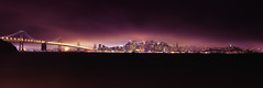 San Francisco Night Lights (_flowtation) Tags: sanfrancisco california city longexposure sea vacation sky panorama usa black west water fog skyline night clouds 35mm lights nikon meer wasser cityscape nebel treasureisland pano urlaub unitedstatesofamerica citylights baybridge bayarea scape westcoast schwarz kalifornien stiching nikon35mm d7000 nikond7000 nikorr35mm
