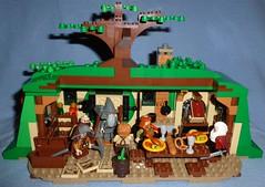 Lego Hobbit 79003: An Unexpected Gathering (Darth Ray) Tags: lego an gathering inside hobbit unexpected 79003