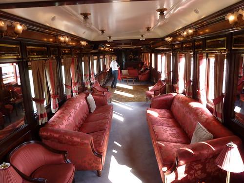 AL Andalus - luxury train in Spain, lounge with dance floor