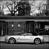 A_14270 B&W (Damien DEROUENE) Tags: street reflection car hasselblad bmw z4 503cwd damienderouene
