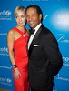 Bryant Gumbel and Hilary Quinlan
