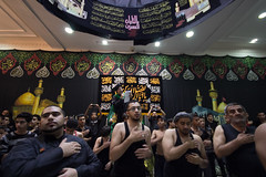 Ashura, Nov 2012 (Hussain Isa) Tags: men bahrain gulf mourning adult islam traditional capital religion cities culture countries grandson sword males ashura karbala hold hussein forces muhammad manama imam armed commemoration occupation shiite caliph