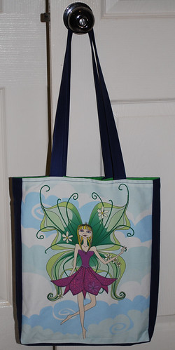 Tote bag -  Philomena the friendly fairy