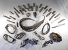 Photo of Viking silver hoard from Bedale area, North Yorkshire