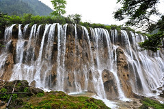 Jiuzhai National Park, China (a UNESCO site) (cowboy6688) Tags: waterfalls  sichuan   jiuzhai  unescosite colourfullakes cascadewaterfalls  tibetanvillages blinkagain jiuzhainationalpark