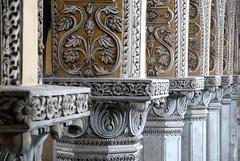 Pillars in Chowmahalla (indomitablemachine) Tags: india hyderabad pillars chowmahallapalace