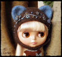 Soon New Kitty Helmets Collection (Leshan1) Tags: hat doll crochet blythe leshan rbl feltedhat dollcrochet blythecrochet leshancrochet