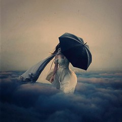 the storm above the clouds (brookeshaden) Tags: