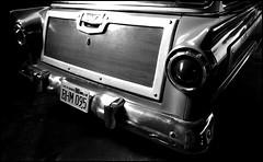 1957 Ford Country Squire Wagon (greenthumb_38) Tags: blackandwhite bw ford wagon blackwhite country nick collection duotone squire huntingtonpark woodie countrysquire carcollection eastla nickalexander jeffreybass nonwoodie
