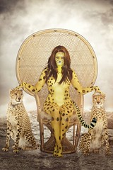 Cheetah (VictoriaCosplay) Tags: cosplay wonderwoman jungle cheetah dccomics justiceleague victoriacosplay wwwvictoriacosplaycom