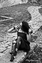 Rocca-0745 (Cristian Photocuba) Tags: black dark strada noir sensual via sguardo glam sassi freddo nero aria vento capelli rsm sensualit photocuba