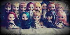 All My Stock Girls <3 (~*De Belles Poupes*~) Tags: stock coco mame blythe pdc scc pdp thm rari vl reddelicious alem misp snso nospop